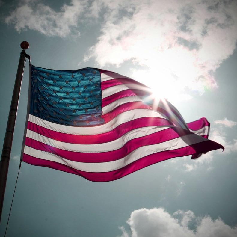 American Flag - Patriotism - July 4th - Independence - Fine Art Print by Tommie Sanders