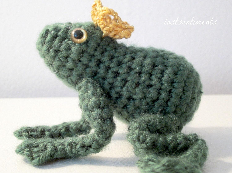 Amigurumi Frog Prince - CROCHET