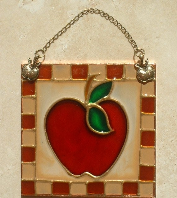 Popular items for apple kitchen decor on Etsy
