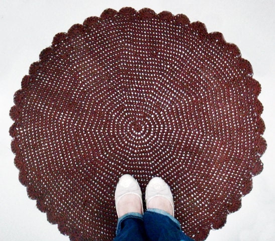 Crochet Round Rug : Add it to your favorites to revisit it later.