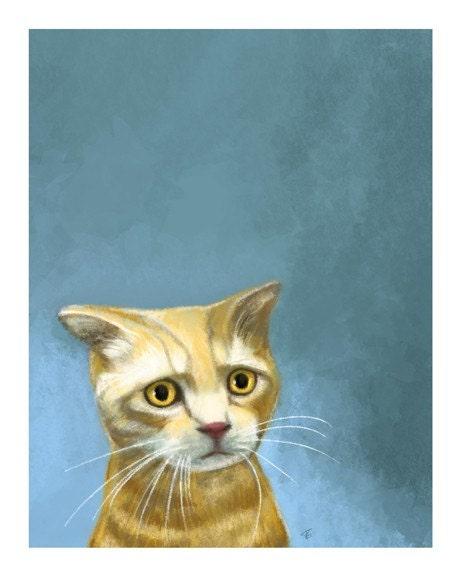 Kitty Print by Tammy Gravina