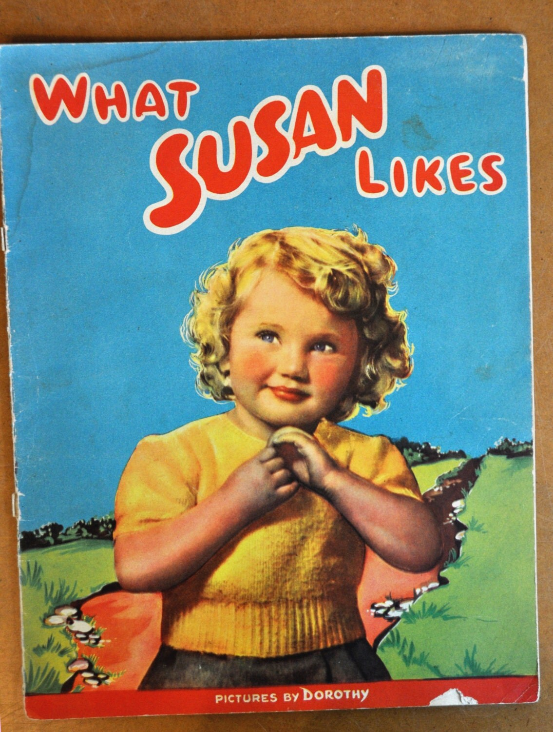 What Susan Likes 1950s Children's Picture Book Pictures by Dorothy - SillyGilly