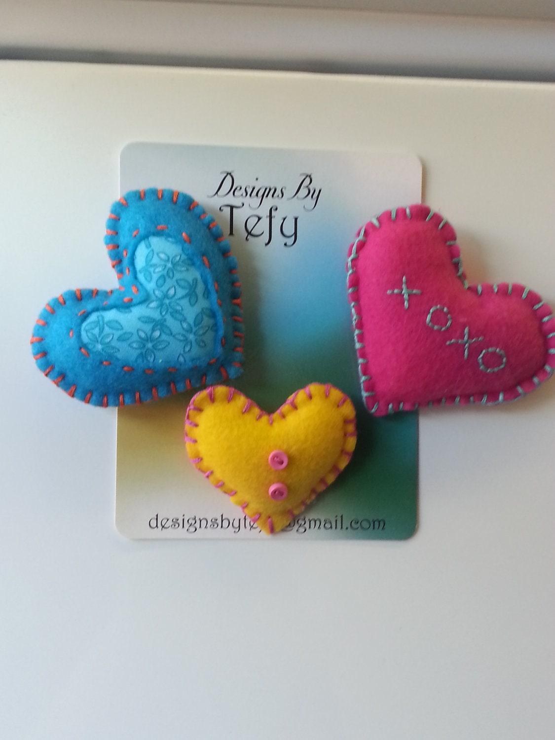 3 Colorful Hearts - DesignsByTefy