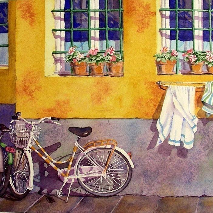 Bicycle Art Italy Italian Travel