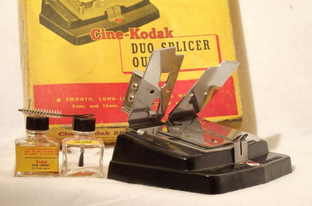 Cine-Kodak Duo Splicer Outfit Vintage 1957