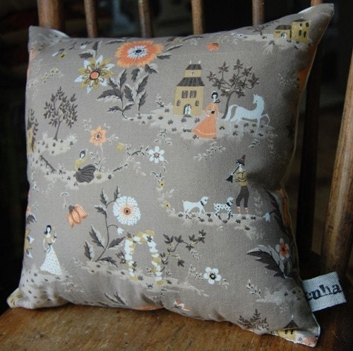 fairy land pillow with organic cotton stuffing