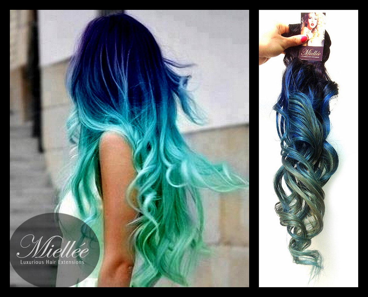 Turquoise Highlights On Brown Hair , Blue Highlights , Pink Highlights ...