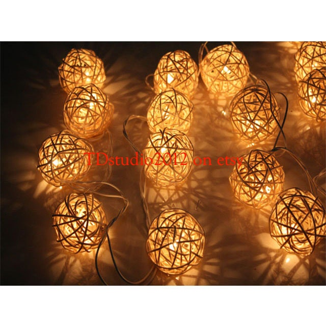 Ball fairy light party light beach wedding light by for Decoration ba13