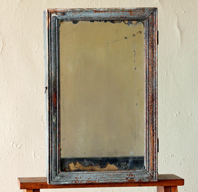Vintage Medicine Cabinet With Mirror By Lustfoundvintage