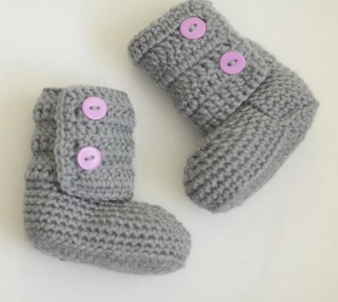 Crochet Uggs : Uggs Inspired, Crochet Baby Booties, Newborn Crochet Shoes, Boutique ...