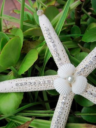 Starfish Tree Topper - Elegant Sparkly for Christmas and Beach ...