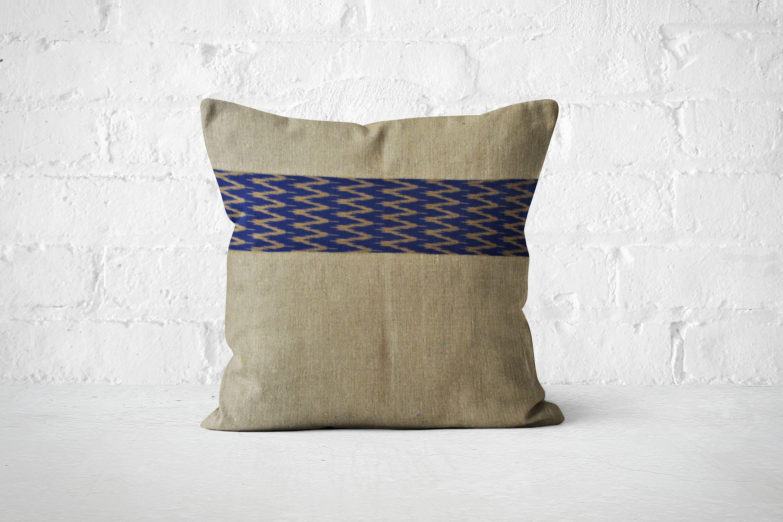 Modern Boho Dcor Gift for her 50th birthday Linen boho pillow Wanderlust dcor 16X16 pillow Bedroom decor inspiration Dorm room decor