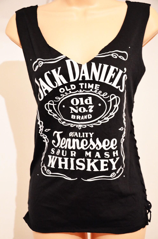Jack Daniels T Shirt Womens