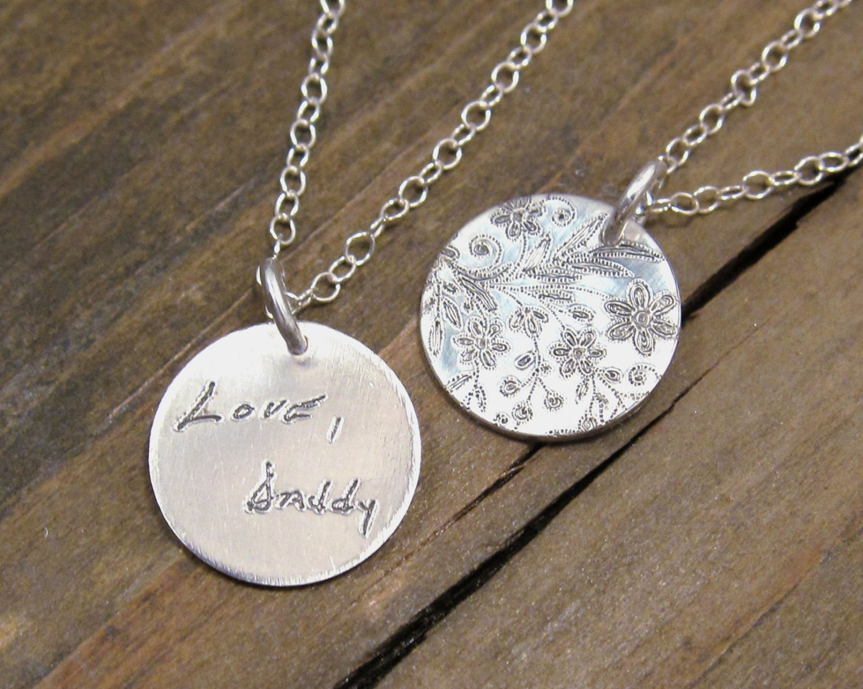 How to make custom handwriting jewelry