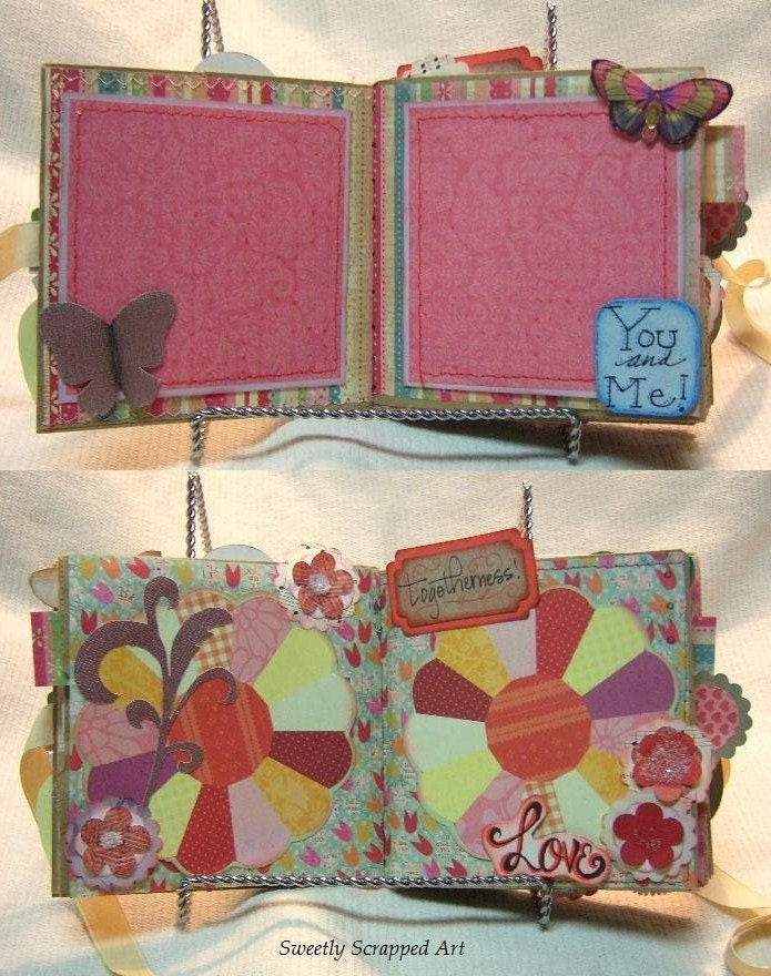 Valentine Paper Bag Album Vintage Feel