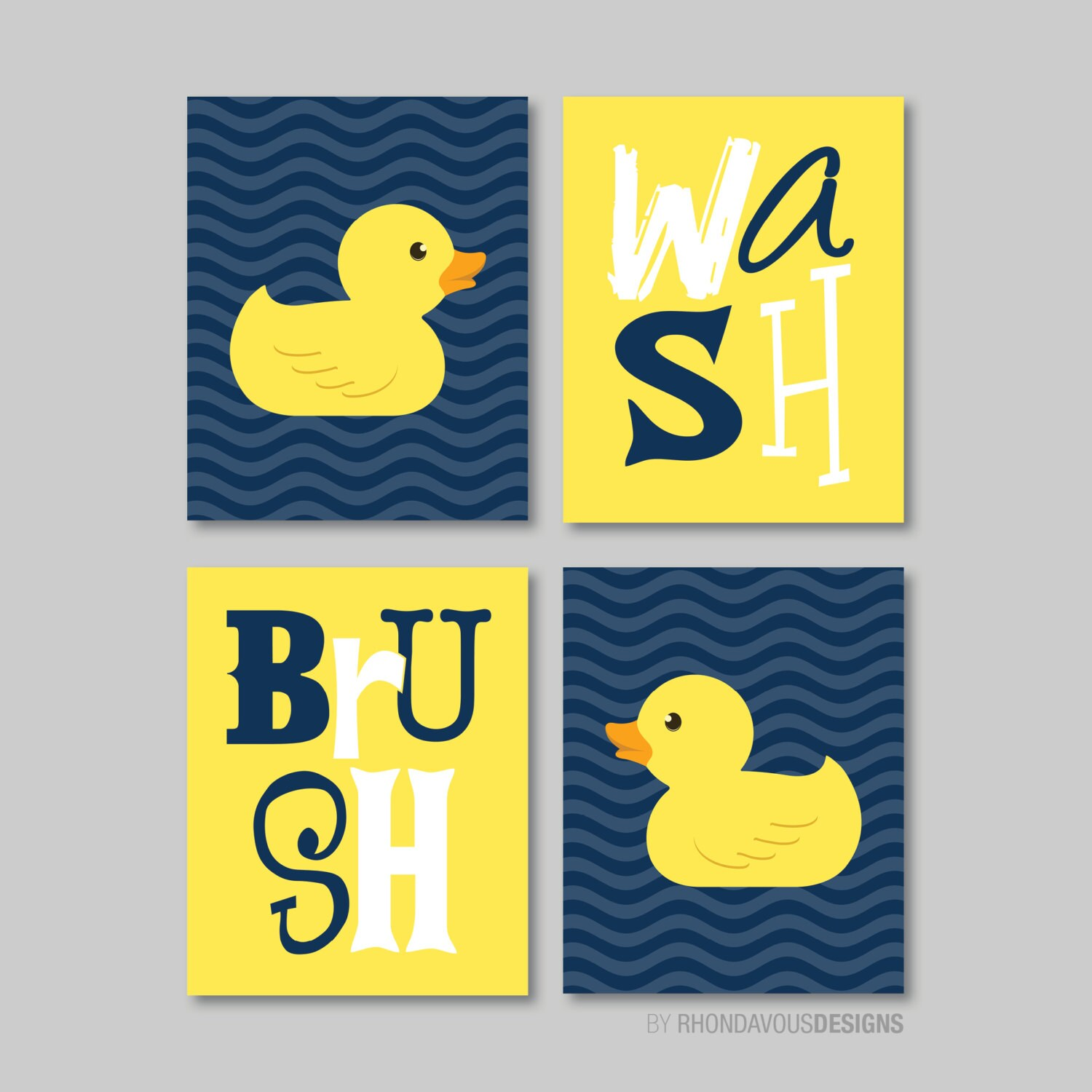 Duck bathroom decor