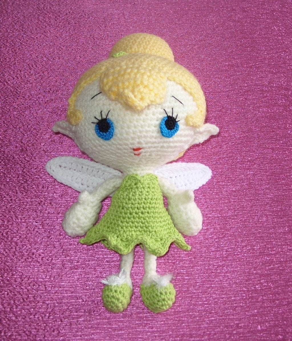 Amigurumi Fairy Free Pattern : EtsyHookers: EtsyHooker of the Week --- CrochetFaery