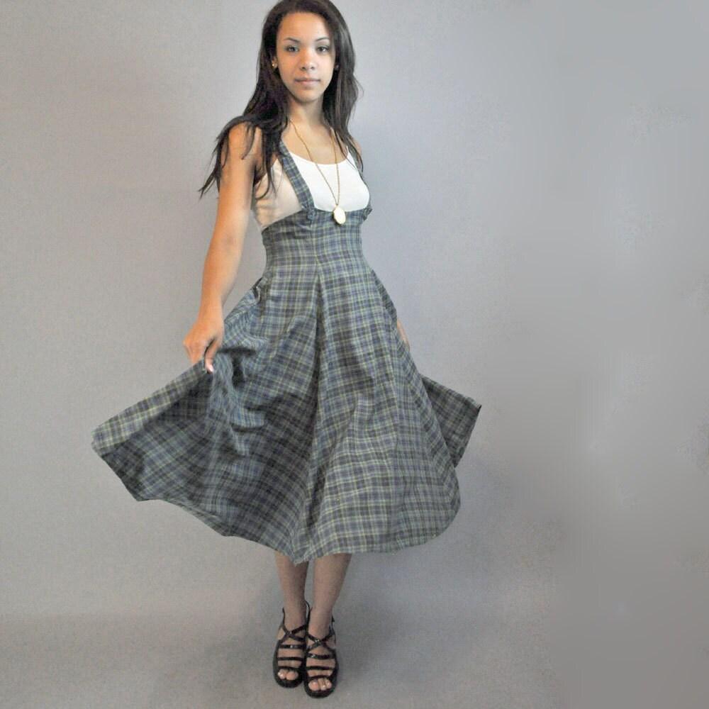 50s skirt jumper skirt vintage by