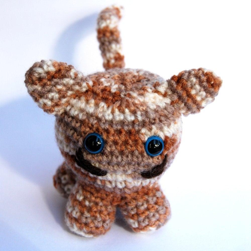 Amigurumi Cat Toys : TINA Hand Crochet Amigurumi Cat Stuffed Toy by Yillup on Etsy