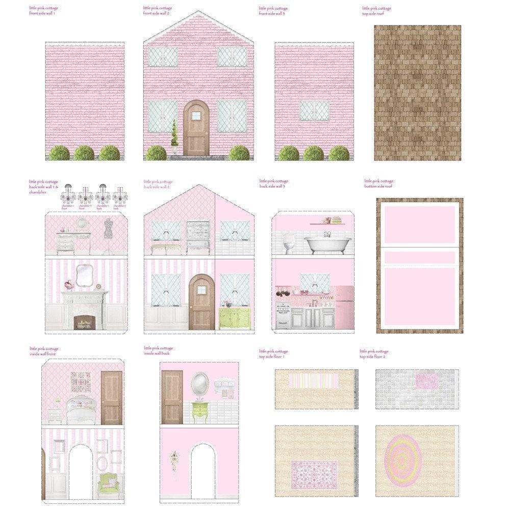 Free Dollhouse Printables