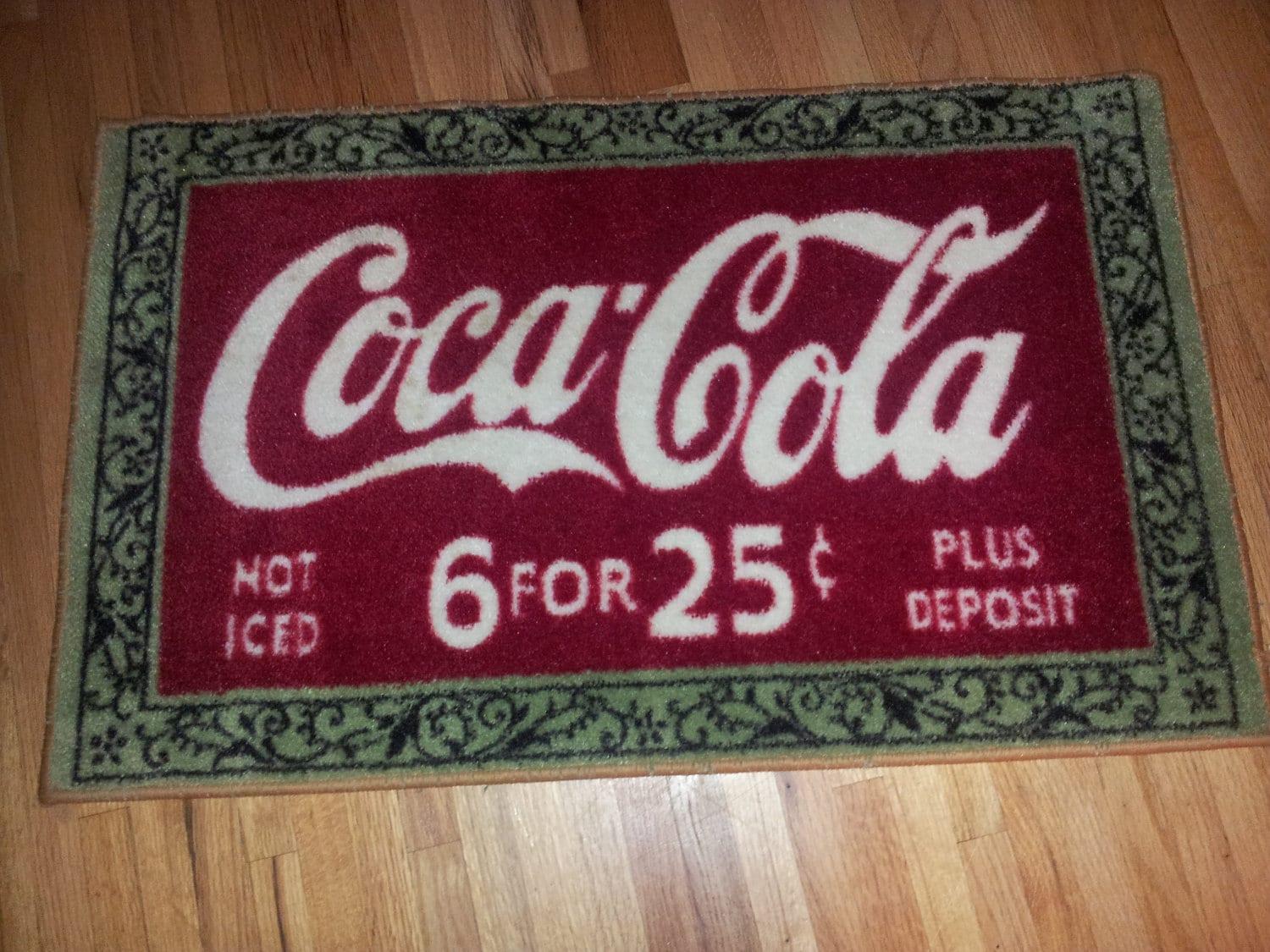 Coca cola bathroom decor