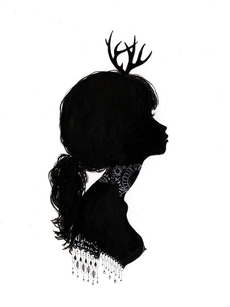 Original Silhouette - Antlers
