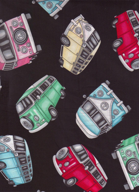 Volkswagen VW Bus I Spy Fabric