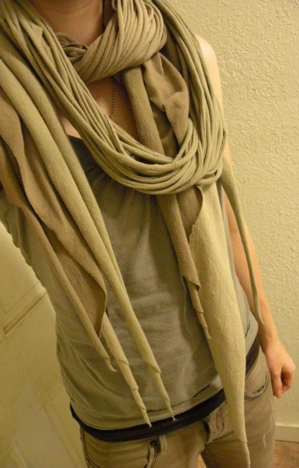 Etsy wraparound scarf at decomp