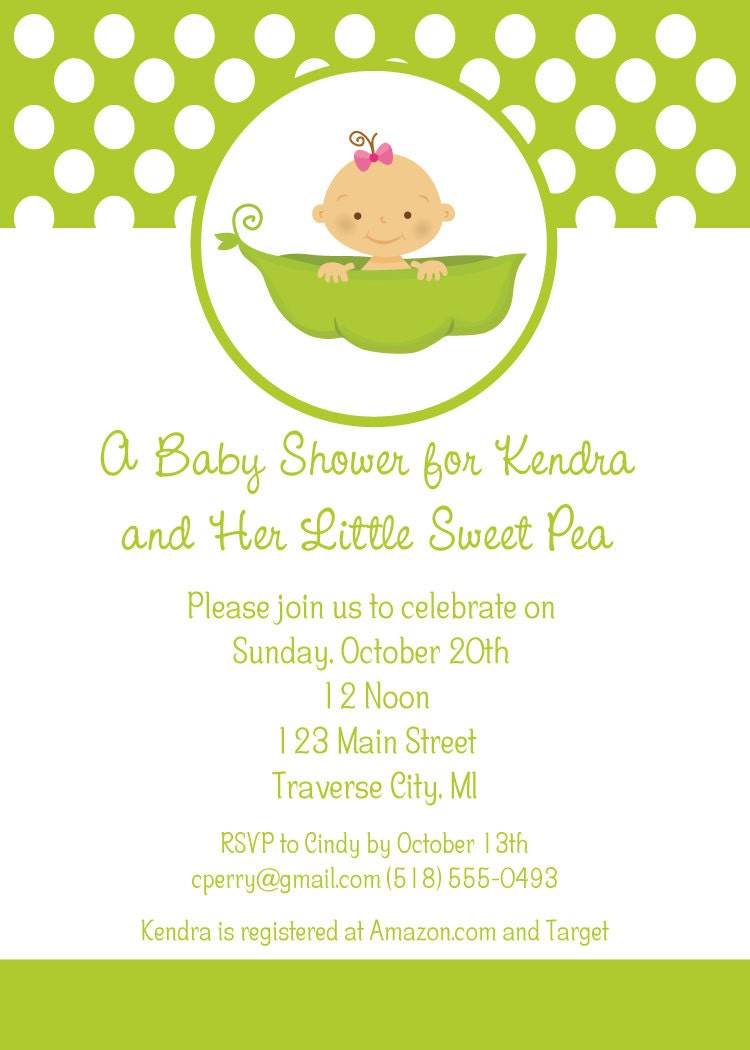 sweet pea baby shower invitations little sweet pea baby shower