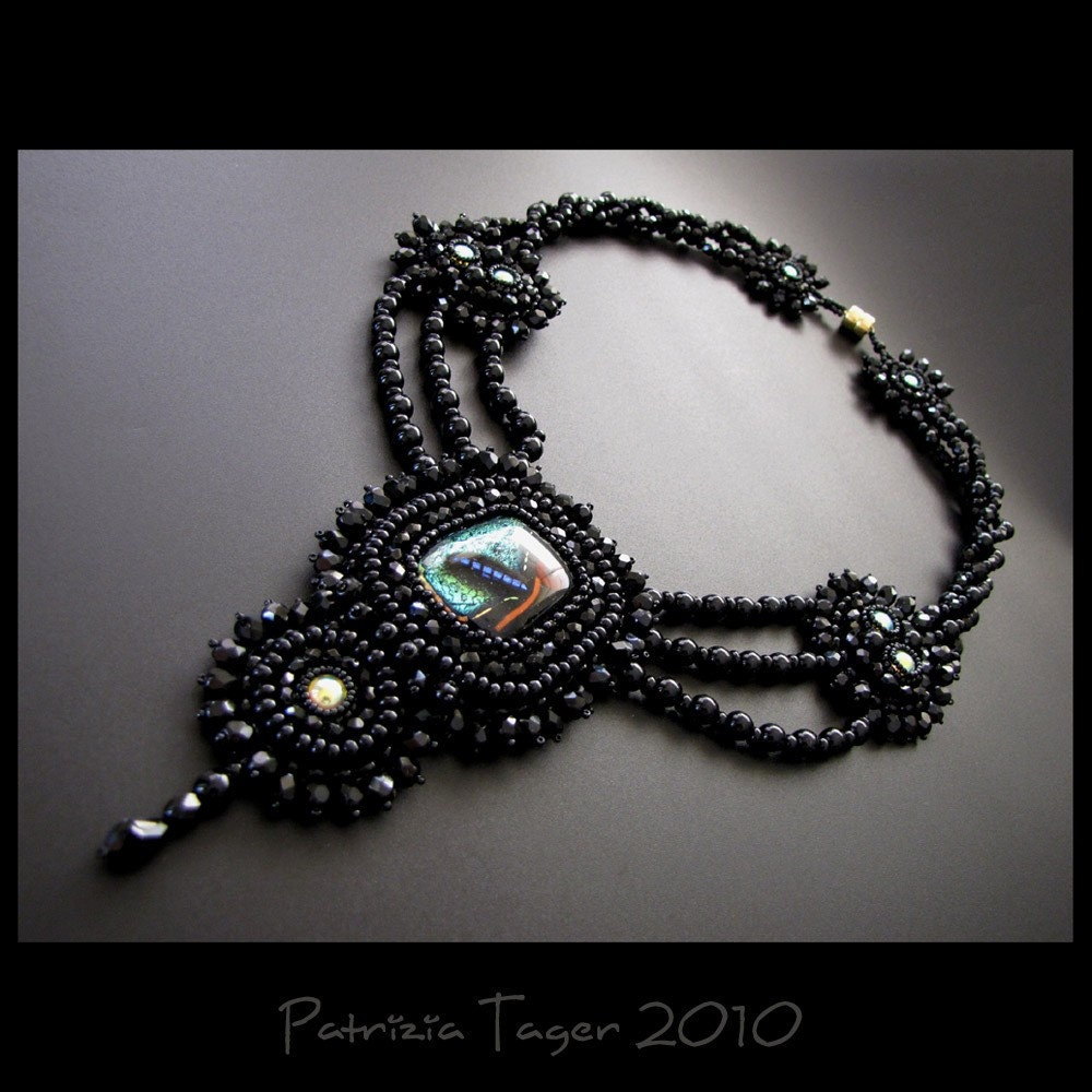 Fly Me to the Moon - OOAK Necklace
