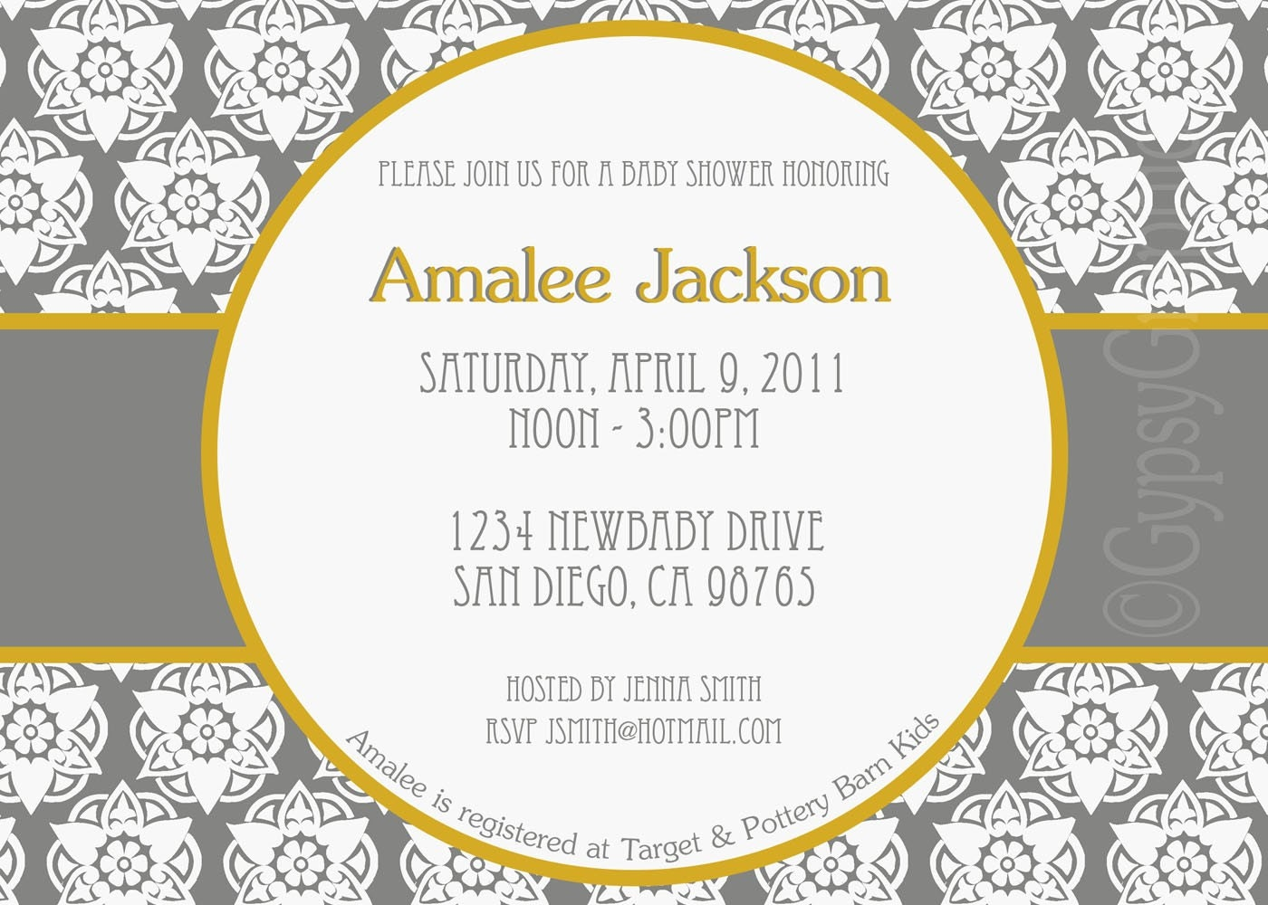 Printable Moroccan Inspired Invitation for birthday party bridal shower baby shower wedding graduation announcement you pick colors