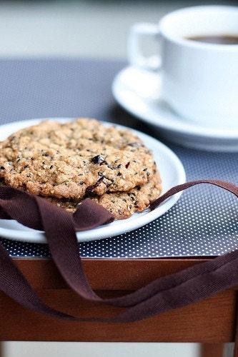 Cranberry Sesame Cookies
