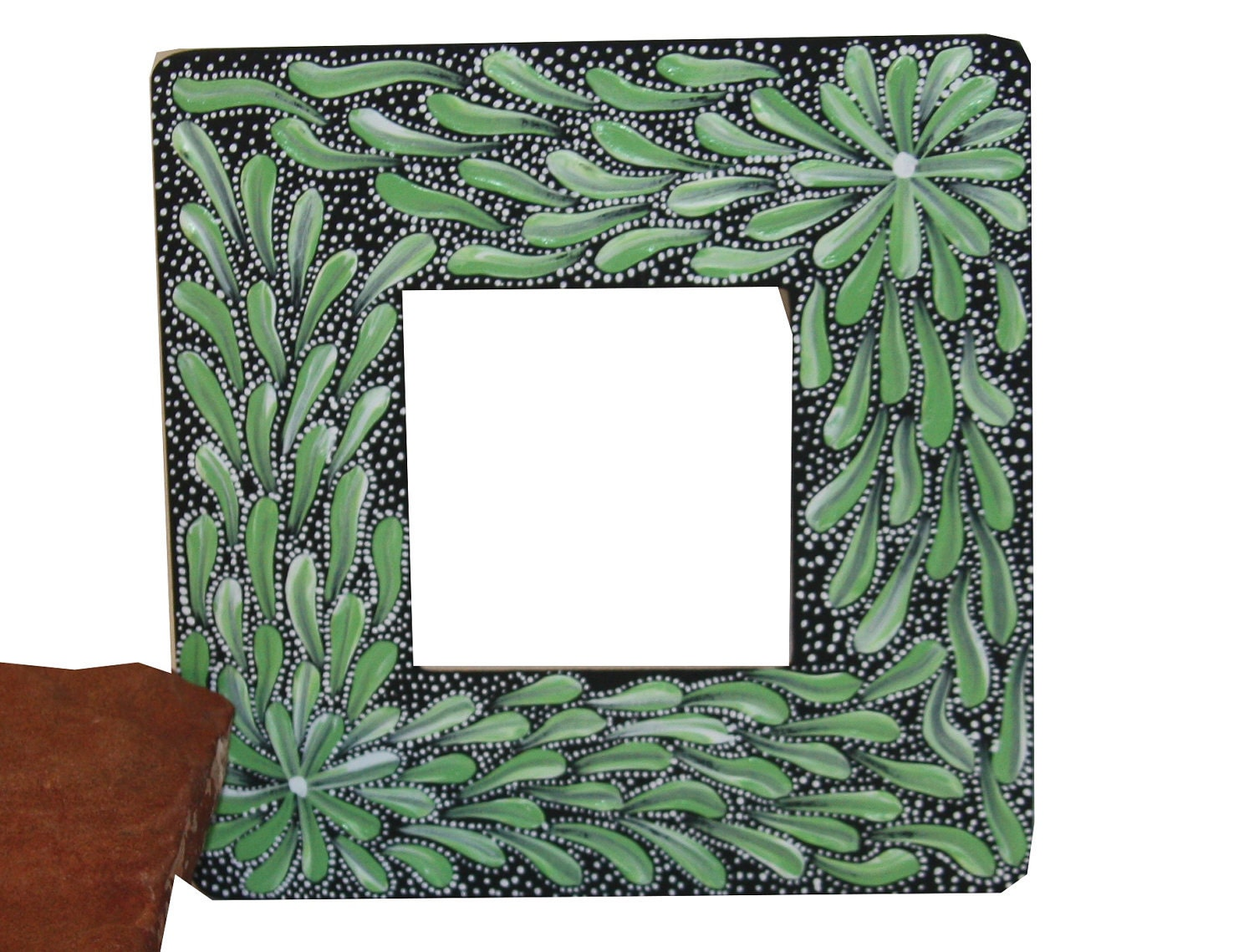 hand painted frame by Acire's
