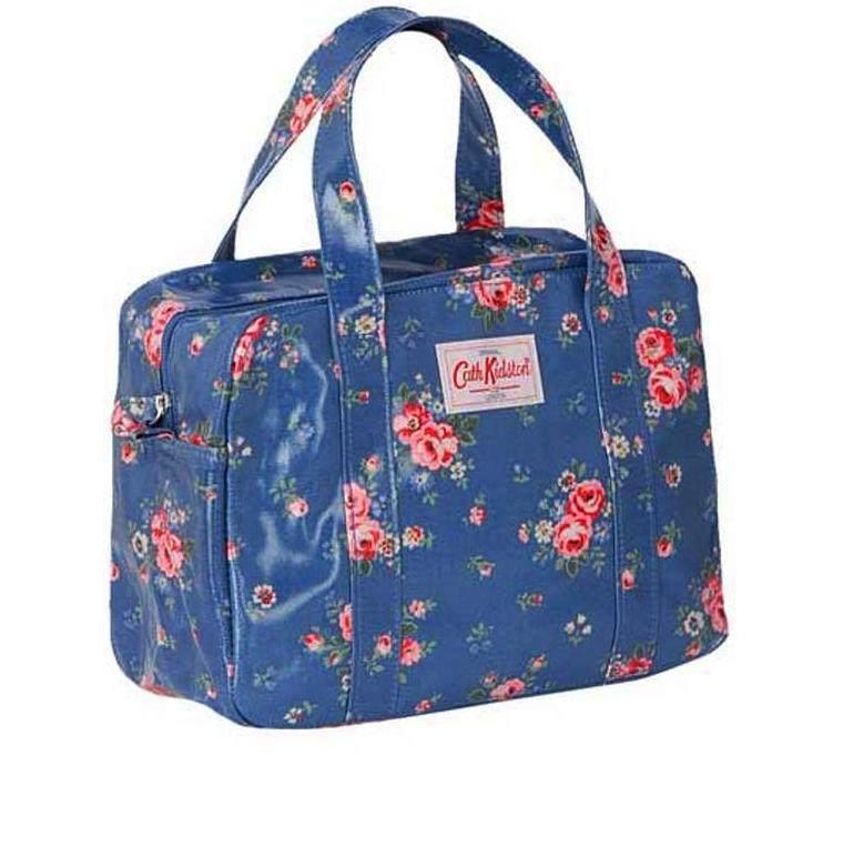3 Days Spring Sale  Cath Kidston Zip Top Floral Handbag  Timeless