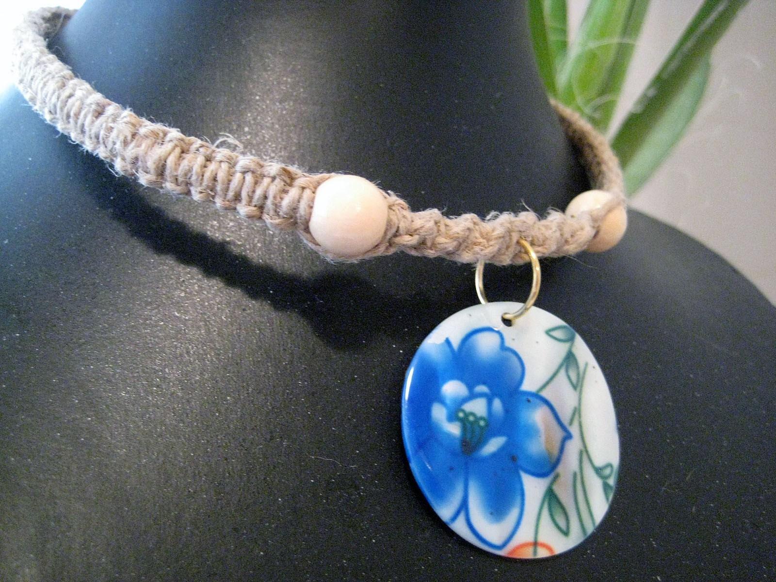Hemp Necklace Patterns