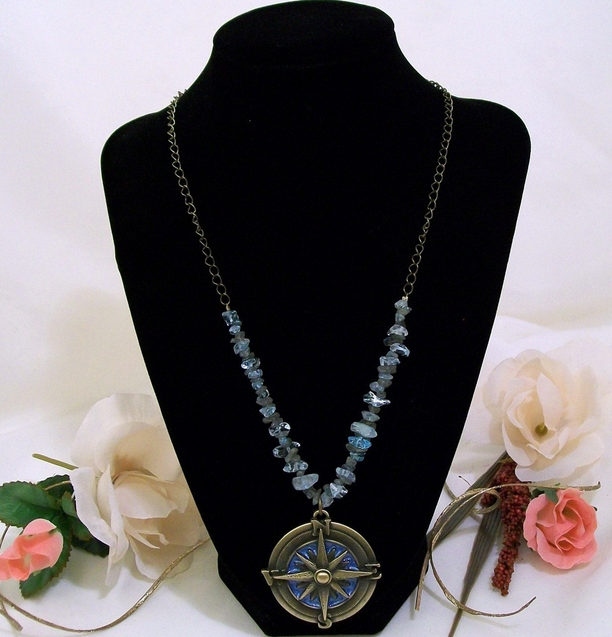 Circle of Balance Labradorite Necklace