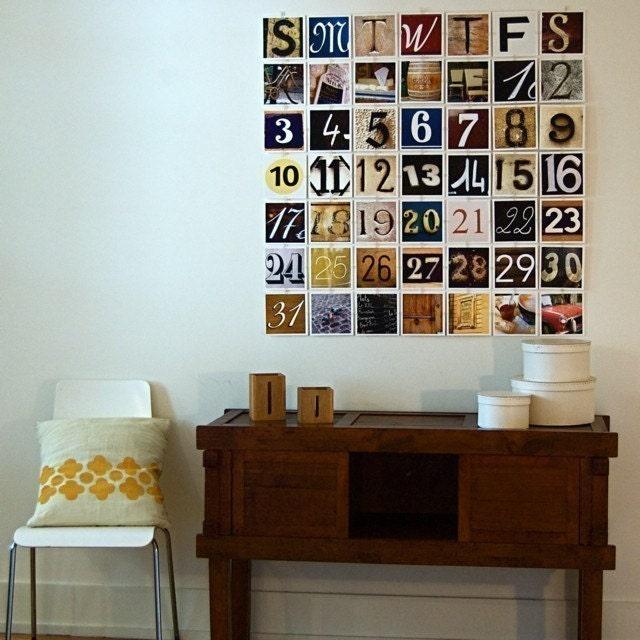 Perpetual Paris - Photo Collage and Perennial Calendar