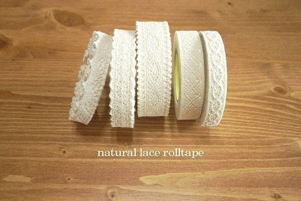 Natural Lace Roll Tape - one single roll