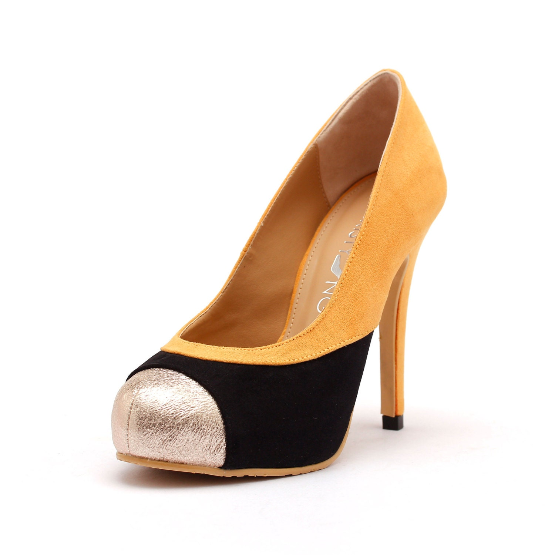 Yellow Box Closed Toe Shoes