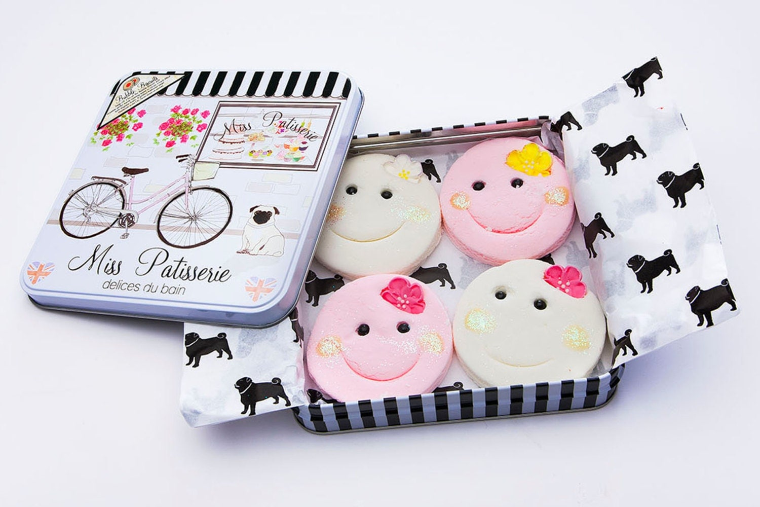 Madame Bubble Bar Gift Tin