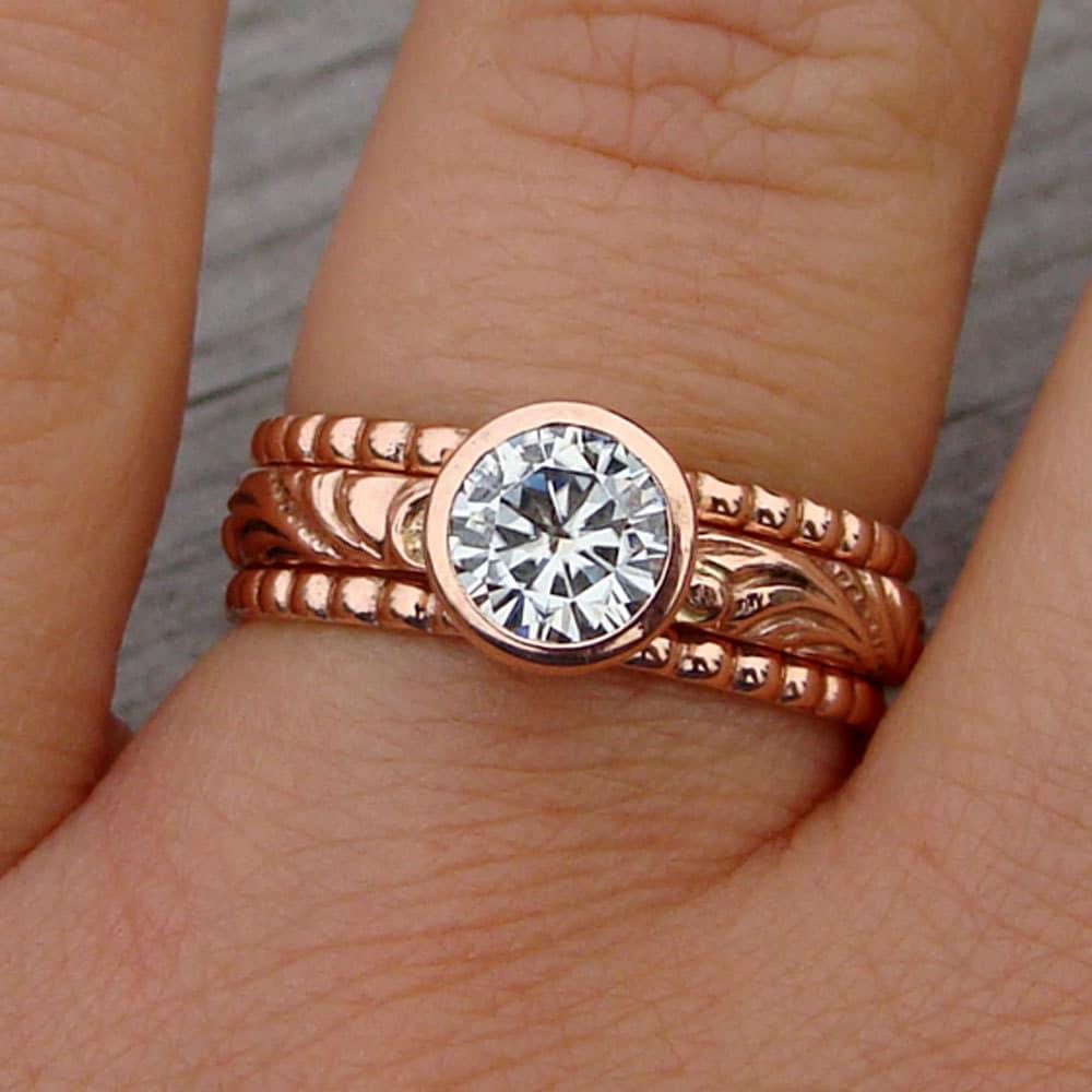 Split Shank Moissanite Ring Weddingbee