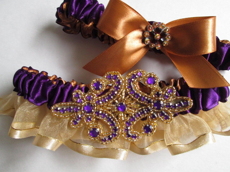 Mardi Gras Masquerade Weddings Gold By GibsonGirlGarters