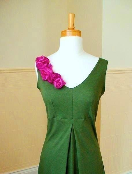 Bamboo and silk DRESS