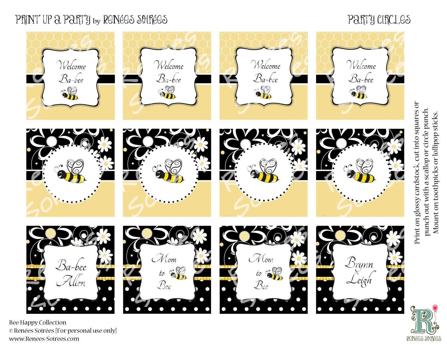 Sienna's Bee themed party - BabyCenter