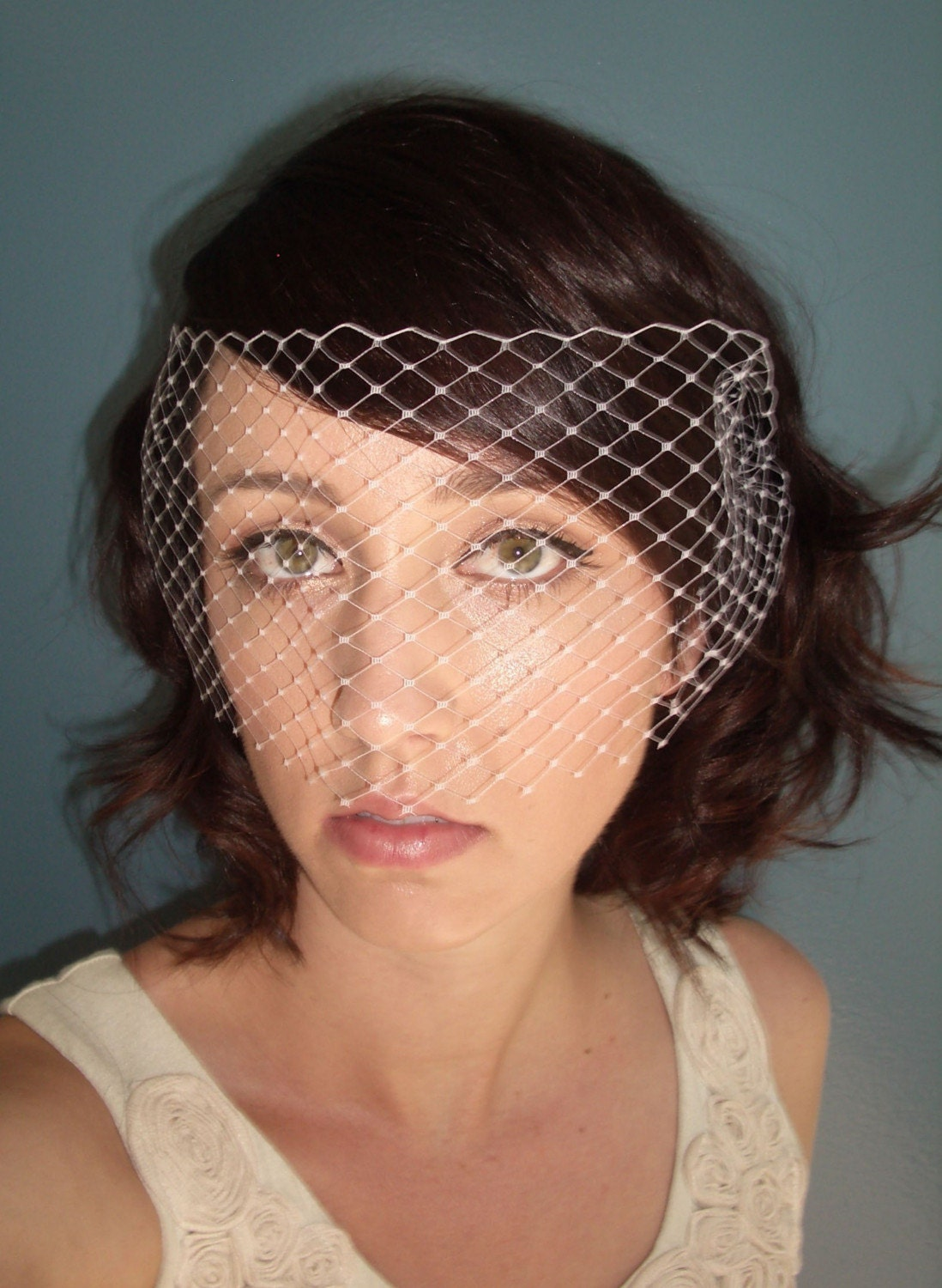 Birdcage Veil Venetian-Bridal or Special Occasion by TessaKim on Etsy from etsy.com