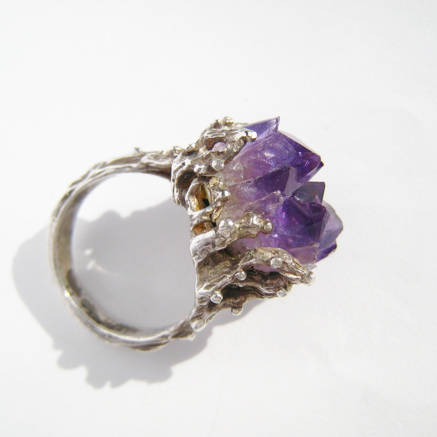 amethyst ring vintage - photo #25