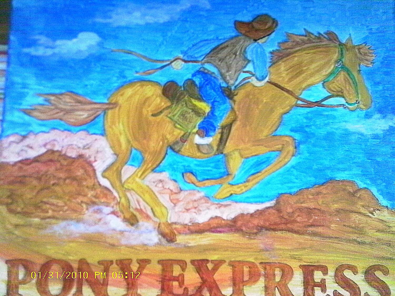 The Pony Express Rider