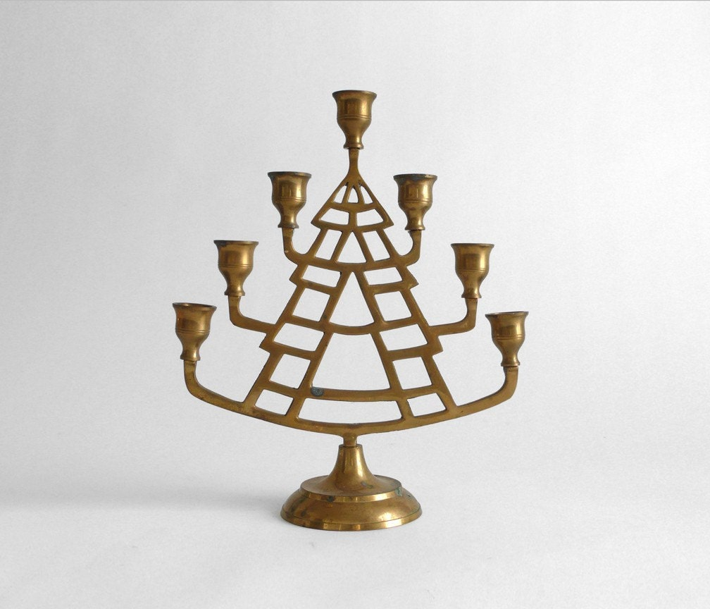 Vintage Brass Candelabra