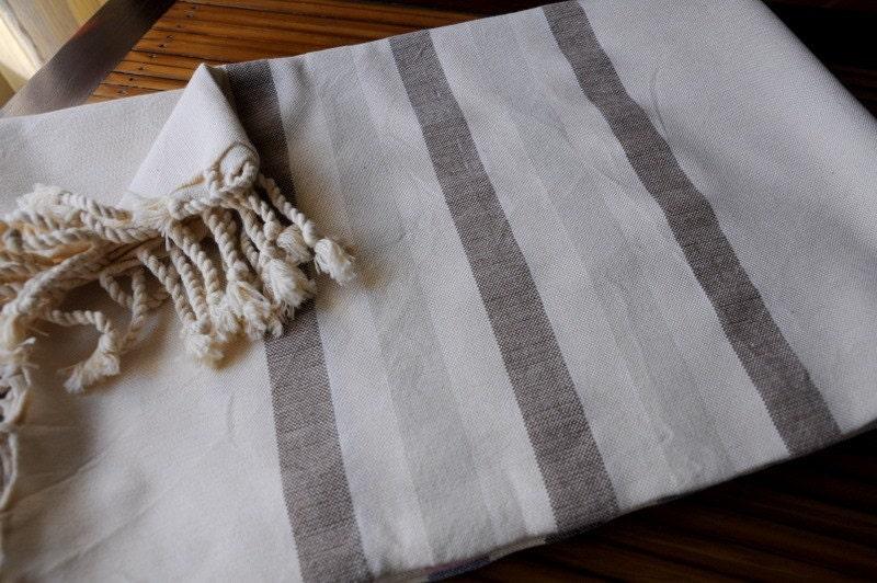 Turkish Peshtemal Towel (silk and cotton)