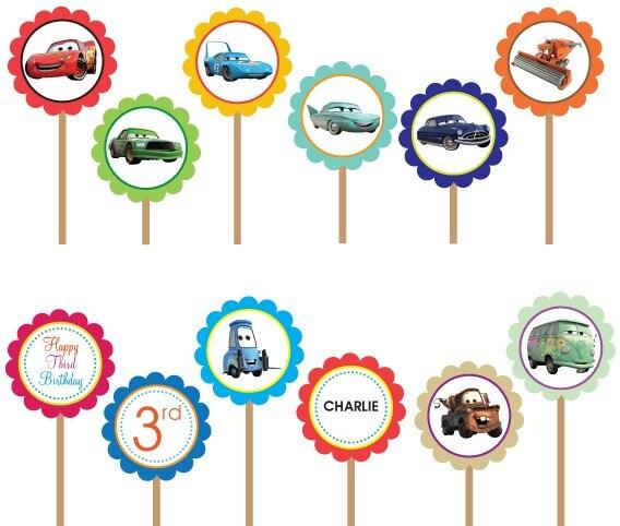 Festa di compleanno Cars - Pane, Amore e Creatività  Pane, Amore e ...